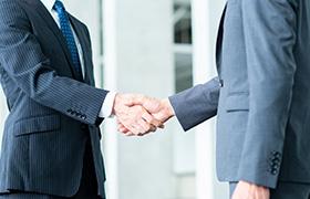 就職活動時の一般企業様との連携
